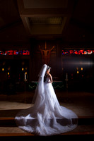 Bridal Portrait in Church