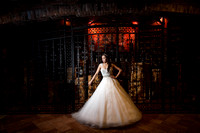 Wine Cellar Bridal Photo