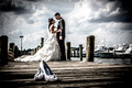 Bride & Groom at Clarks Landing